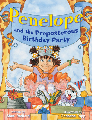 Penelope and the Preposterous Birthday Party Cover