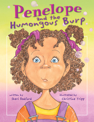 Penelope and the Humongous Burp Cover